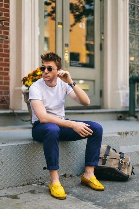 Quần kaki nam, item không bao giờ lỗi mốt: kính nam đẹp.