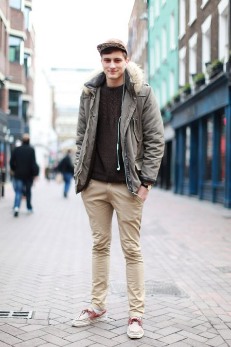 Quần kaki nam, item không bao giờ lỗi mốt: Áo khoác nam kaki.