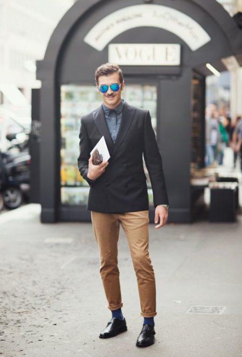 Quần kaki nam, item không bao giờ lỗi mốt: thời trang công sở nam.