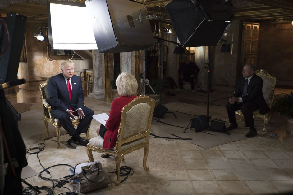 Donald Trump: interview.