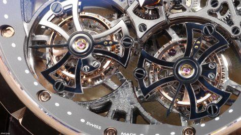 Đồng hồ Double Tourbillon