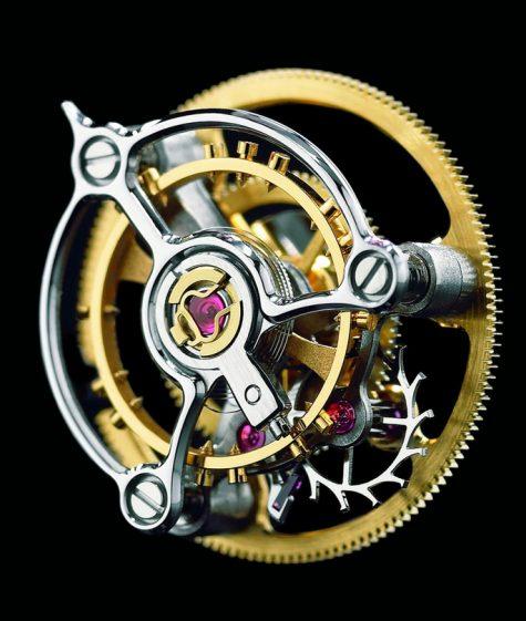 """Chiếc """"lồng"""" đặc trưng của đồng hồ Tourbillon"""