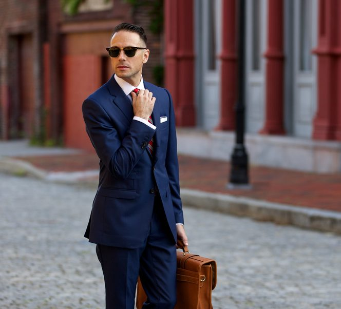 phong cách thời trang thầy giáo - suit - elle man