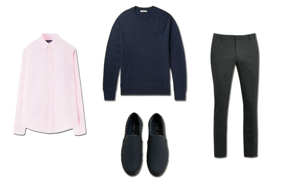Áo sơi mi The Cosmo Áo Sweater Burburry Quần Topman Giày Zara