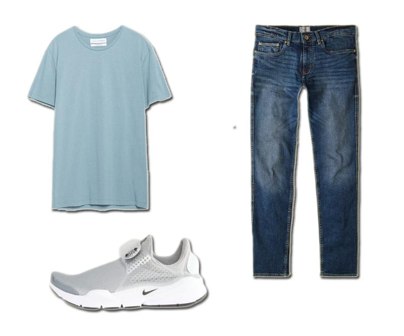 Áo Zara Quần Mango Giày Nike Sock Dart