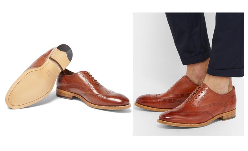 giày nam đẹp Brogues Cristo - elle man