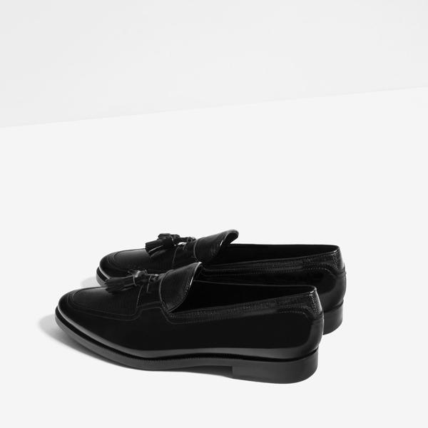giày nam đẹp Loafers của Zara - elle man