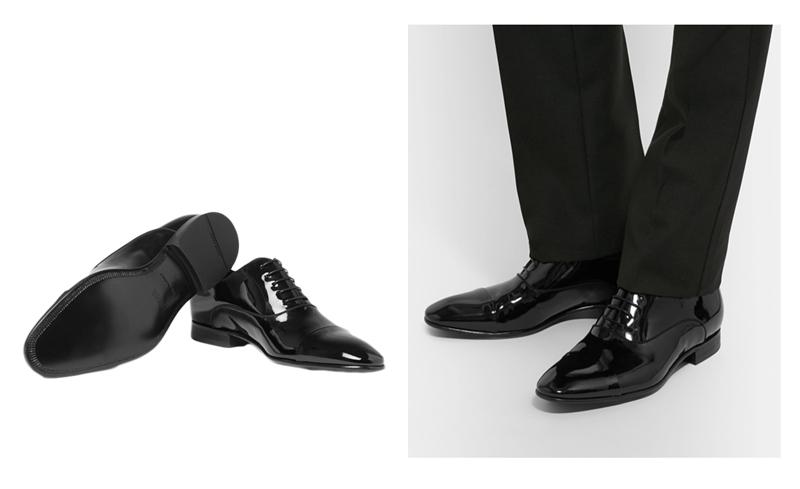 giày nam đẹp Oxford Hugo Boss - elle man
