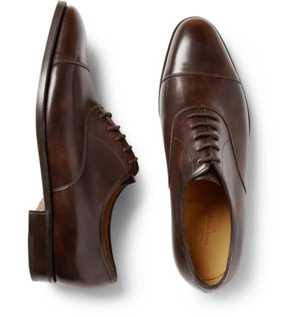 giày nam đẹp Oxford của John Lobb