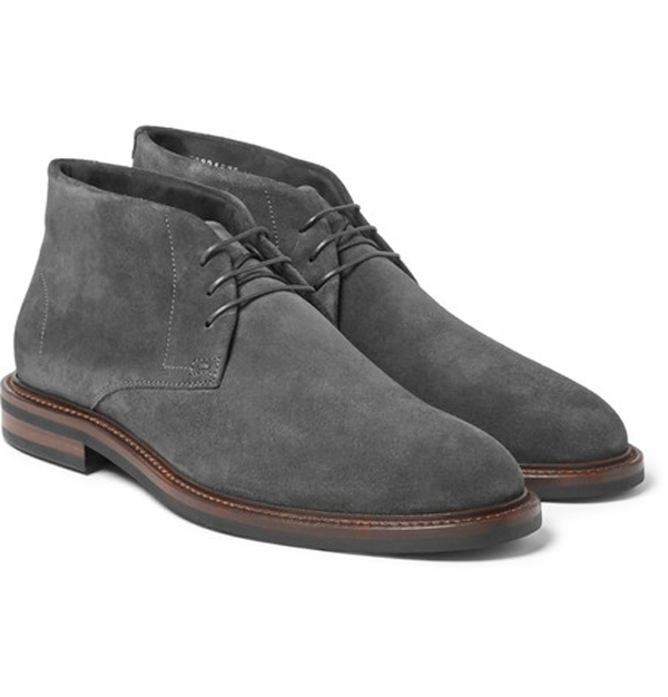 giày nam đẹp bốt Hugo Boss - elle man