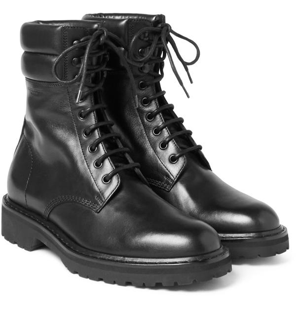 giày nam đẹp bốt Saint Laurent - elle man