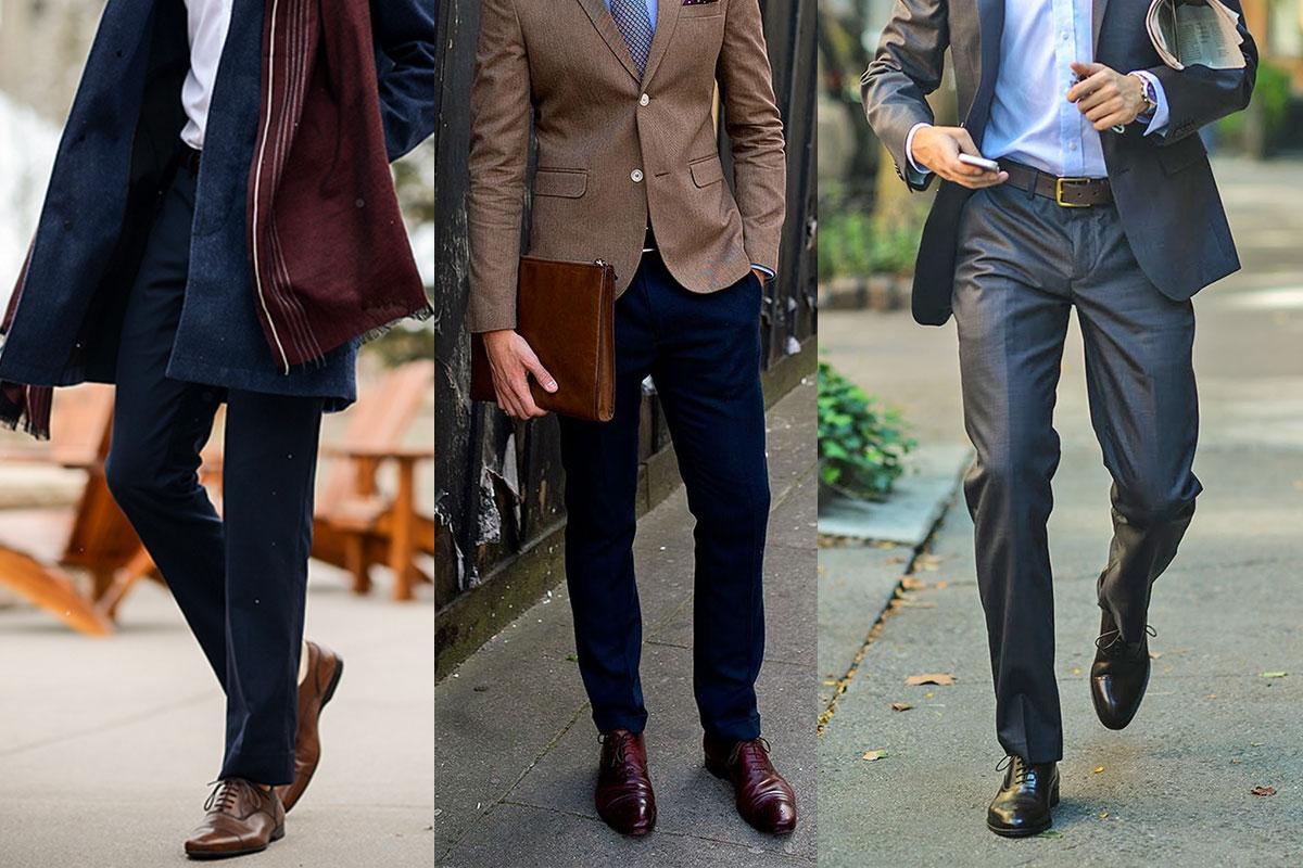 giày nam đẹp OXford - elle man