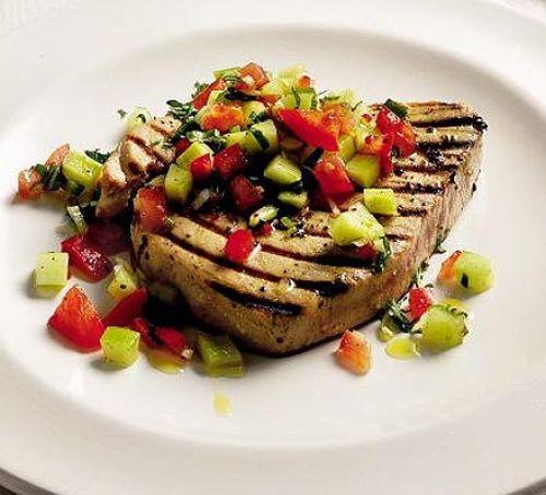 thực phẩm dinh dưỡng - cá ngừ - elle man