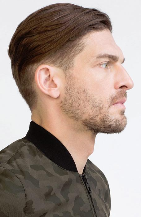 Kiểu tóc nam đẹp Fade Sweep Back mang lại cho bạn vẻ lịch lãm của một quý ông đúng chuẩn