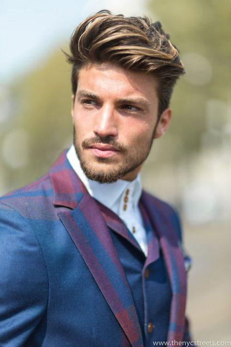 Kiểu tóc nam đẹp Messy Pompadour tuy nhìn hơi lộn xộn nhưng giúp bạn trông trẻ trung và thời thượng hơn bội phần