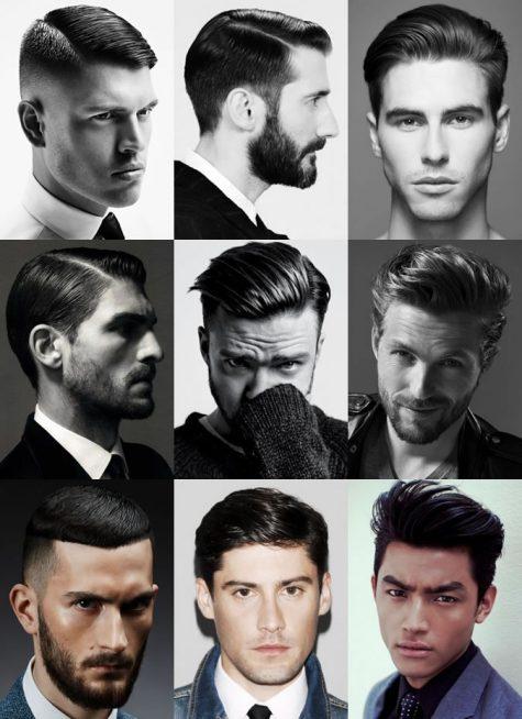 các kiểu tóc nam