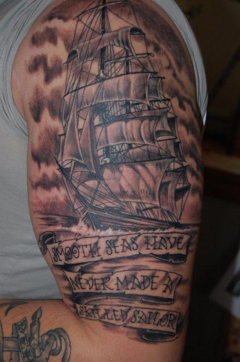 Biển cả êm đềm không làm nên những thủy thủ tài ba