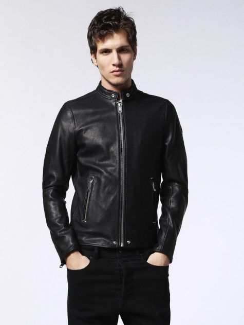 Áo da nam Diesel Sheepskin Leather Coat for Men