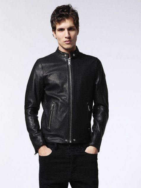 Áo da nam Diesel Sheepskin Leather Coat for Men