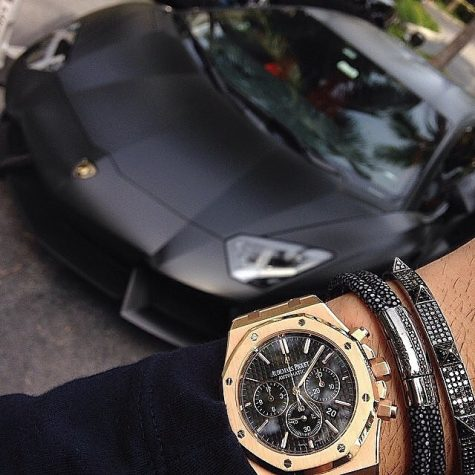Luxury watches and cars
