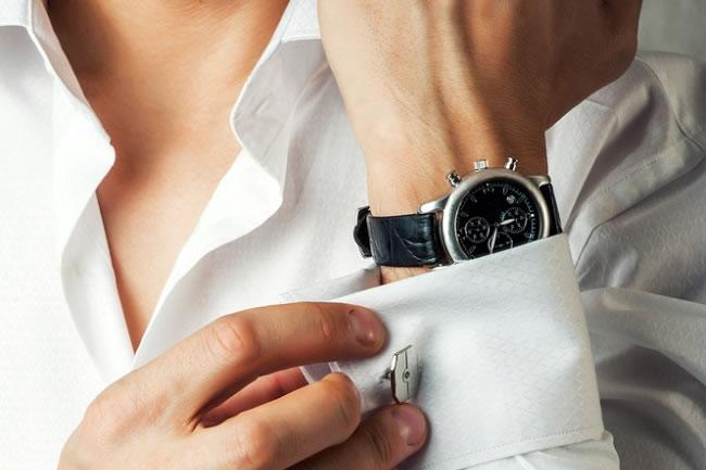 phong cách thời trang black tie- accessories - elle man