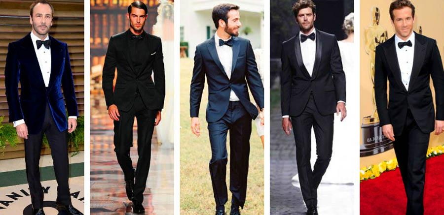 phong cách thời trang black tie- trousers - elle man