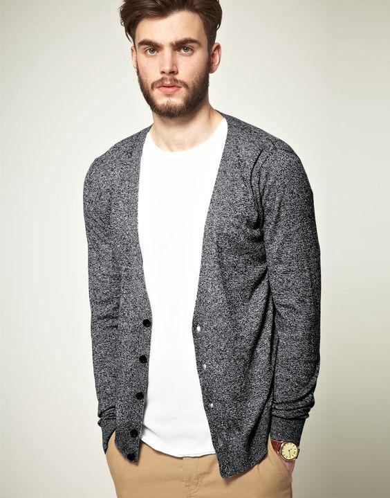Phong cách thời trang Áo phông cùng Cardigan luôn là sự kết hợp hoàn hảo cho chàng trai ưa thích phong cách thời trang đơn giản, không cầu kỳ