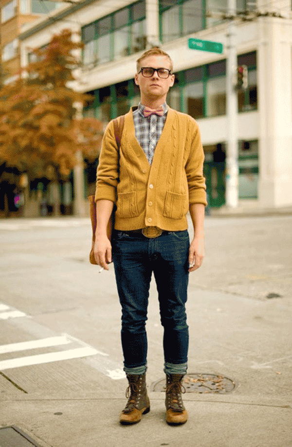 Bạn có dám thử sức với phong cách thời trang gam màu ấn tượng như anh chàng này không
