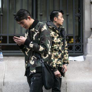 Phong cách thời trang Camo mạnh mẽ cho chàng trai mùa Đông