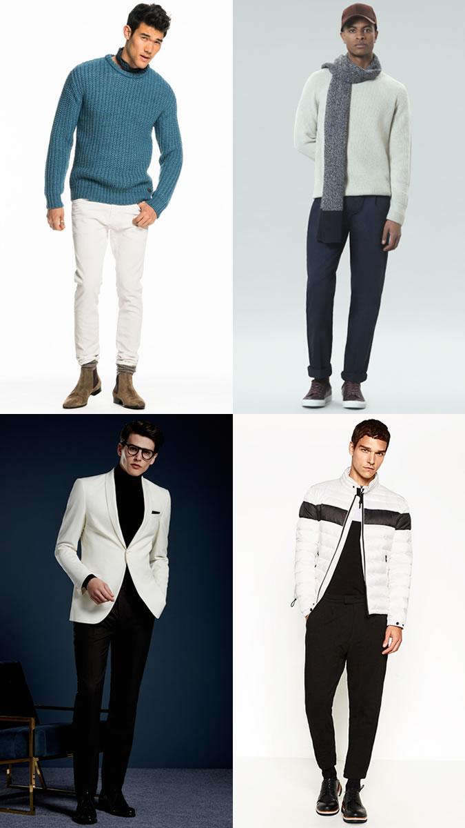 Đừng nên mặc màu trắng vào mùa Đông?