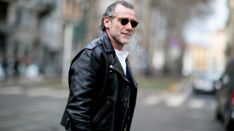 Áo khoác da: cách tân kiểu dáng, ghi điểm thời trang