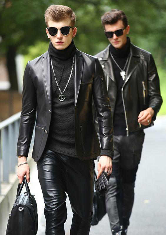 Bạn có dám thử sức với một chiếc áo khoác da Blazer kiểu cách không