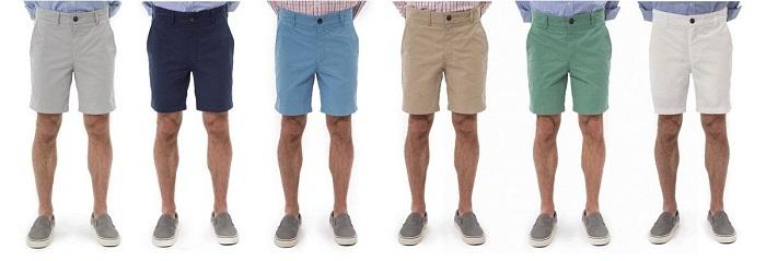 Cách phối quần áo: Shorts for short men