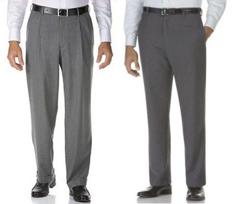 Cách phối quần áo: cuff vs no cuff pants