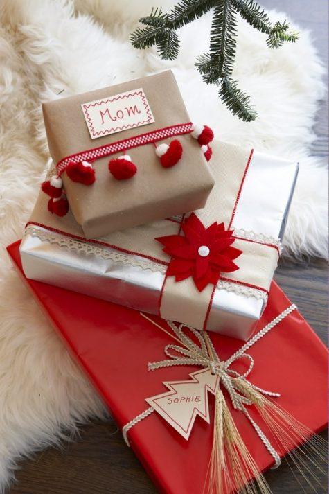 Ý tưởng quà Giáng Sinh dành tặng người thân: gói quà