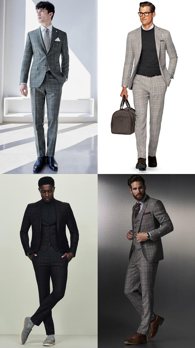 xu hướng thời trang - suit nam ca-rô - elle man