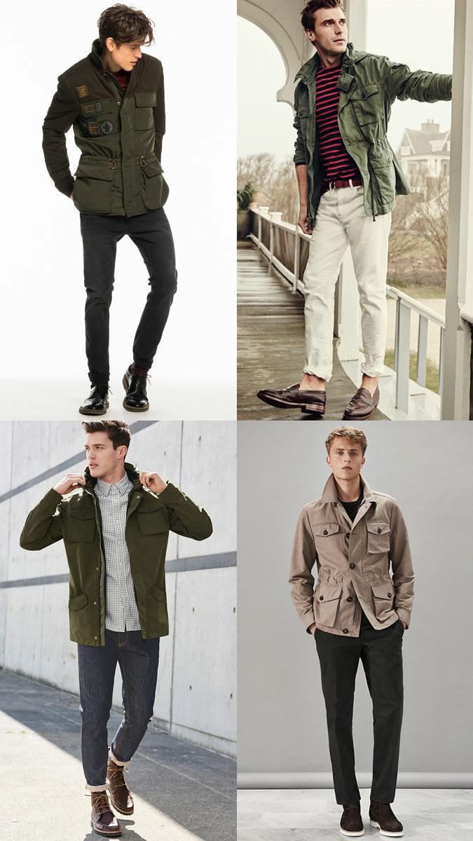 xu hướng thời trang - safari jacket - elle man
