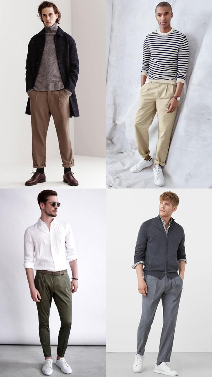 xu hướng thời trang - quần ống rộng - elle man
