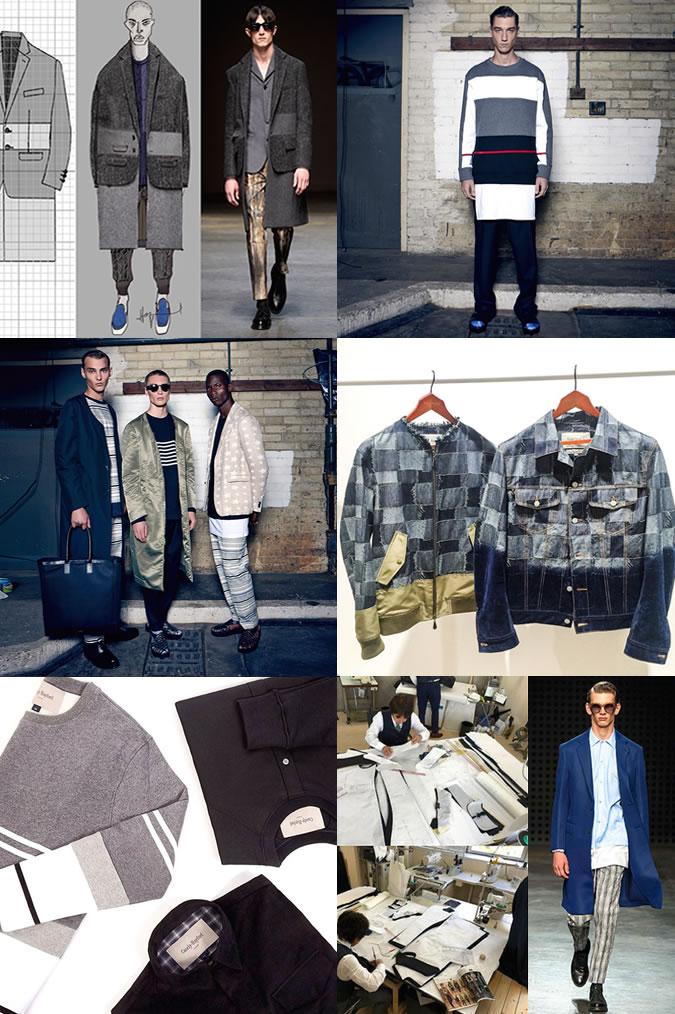 nhà thiết kế thời trang - Casley & Hayford - elle man