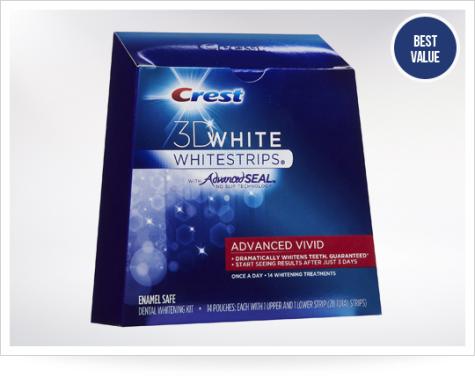 Sản phẩm làm trắng răng hiệu quả nhất: Miếng dán trắng răng Crest