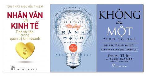 Những cuốn sách hay về nghệ thuật kinh doanh