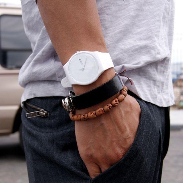 đồng hồ nam Swatch - elle man