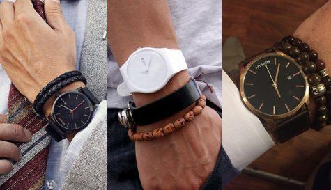 5 kiểu phối vòng tay - đồng hồ nam độc đáo và phong cách