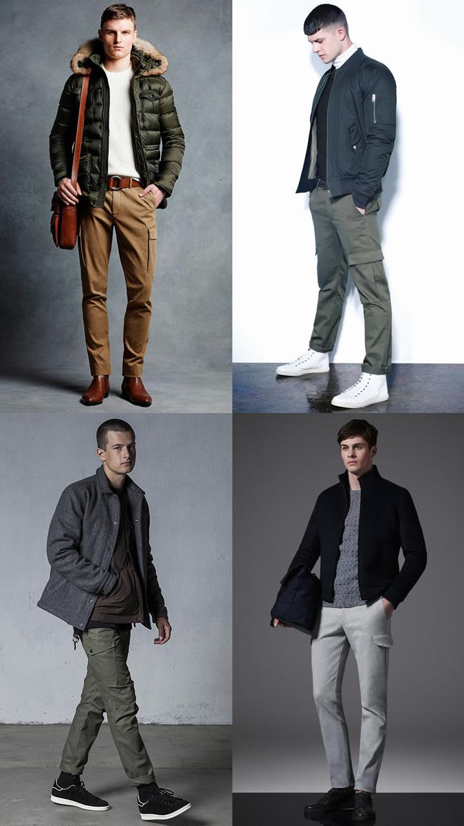 quần túi hộp - phong cách smart-casual - elle man
