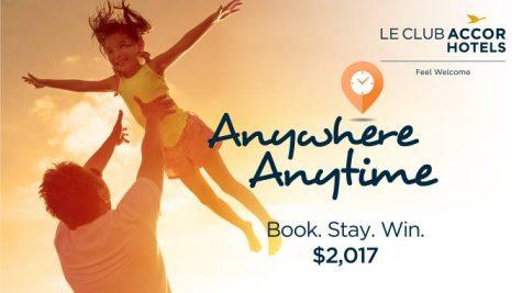 Đặt phòng và lưu trú càng nhiều, khách du lịch càng có nhiều cơ hội nhận được $2017.