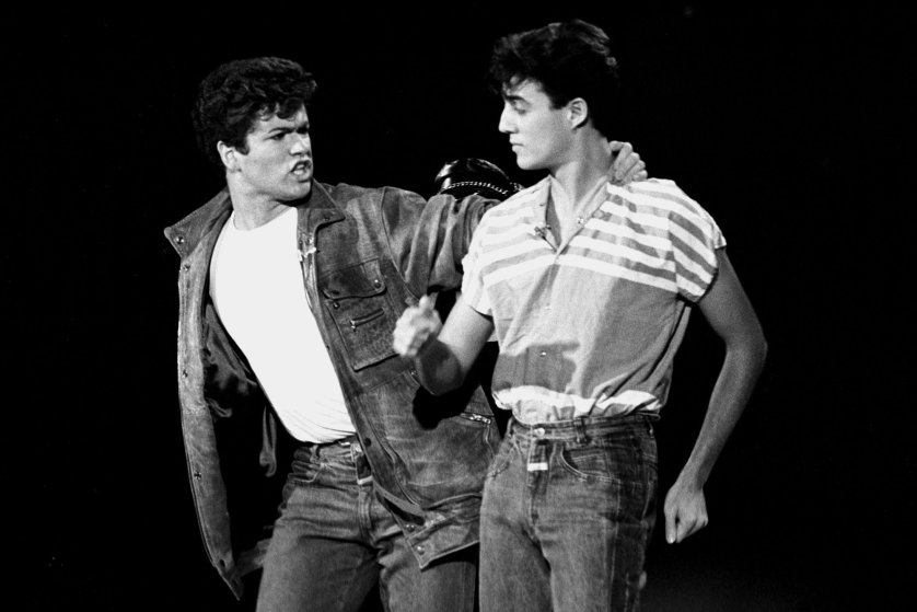 Cặp bài trùng George Michael và Andrew Ridgeley của Wham! lần đầu xuất hiện trước công chúng trên truyền hình Mỹ vào ngày 12/11/1982.