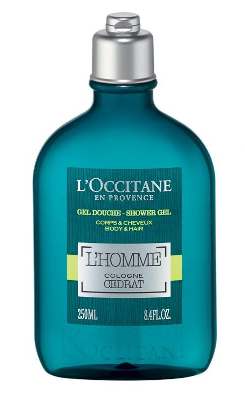 loccitane - sữa tắm - elle man