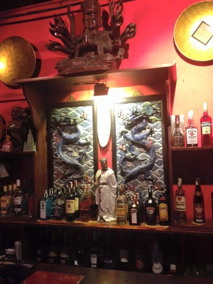 đi bar - Mao's red Lounge - elle man
