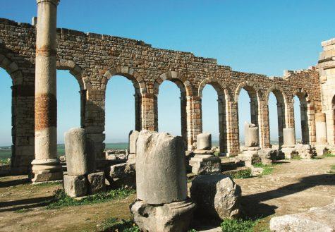 Phế tích thành cổ La Mã ở Volubillis