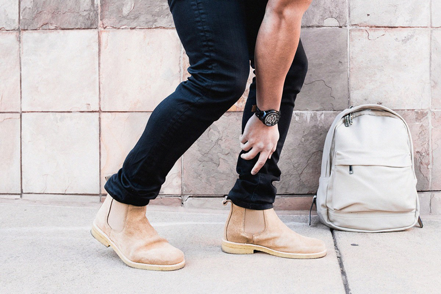 xu hướng thời trang - giày chelsea boots - elle man